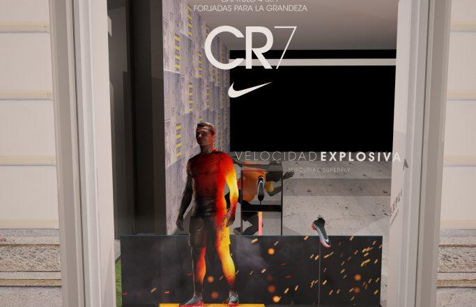 Cristiano Ronaldo – CR7 – Retail Marketing – Nike